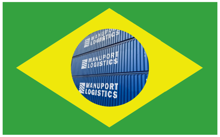 Manuport Logistics connects Belgium and Brazil with own direct shipping service